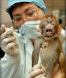Monkey being injected.jpg