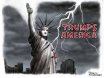 Trump Fascist America Statue of Liberty