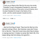 Trump thinks he is King of Israel tweet
