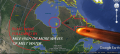 Hudson Bay possible meteor impact site