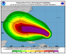 Hurricane Dorian Wind Speed Probabilities Aug 30 2019