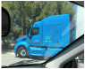 Waymo Google self driving semi truck cabin