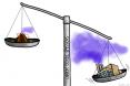 Volvancic versus human emissions of CO2