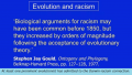 Belief in Evolution Exacerbates Racism