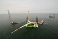 wind turbine offshore construction