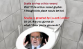 Scalia in hell