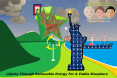 Liberty Through Renewable energy Poster 3 plain