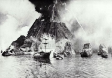 Laki Eruption and ships in port