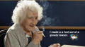 Oldest lived lady smoked