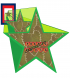 Green Leaf Star American Symbol