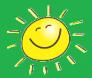 Sun on green flipped horizontal
