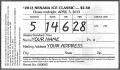 Nenana Ice classic ticket
