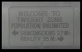 Welcome to Twilight Zone - No Reality