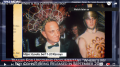 Roy Cohn in drag with companion that Vanity Fair claims is Trump