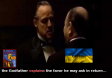 Trump does the Godfather in Ukraine