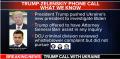 Trump Mafia Shakedown phone call Ukraine