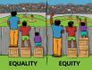 Equlaity versus equity
